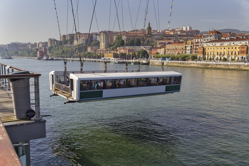 Transbordador del Puente Colgante de Bilbao