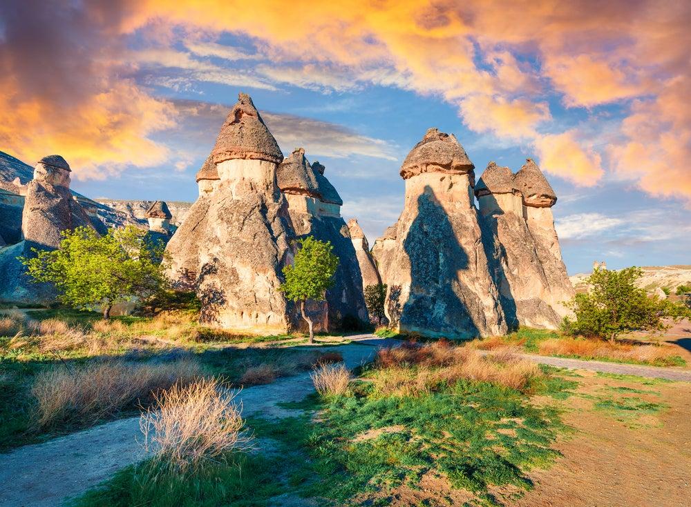 Formaciones rocosas en Uçhisar