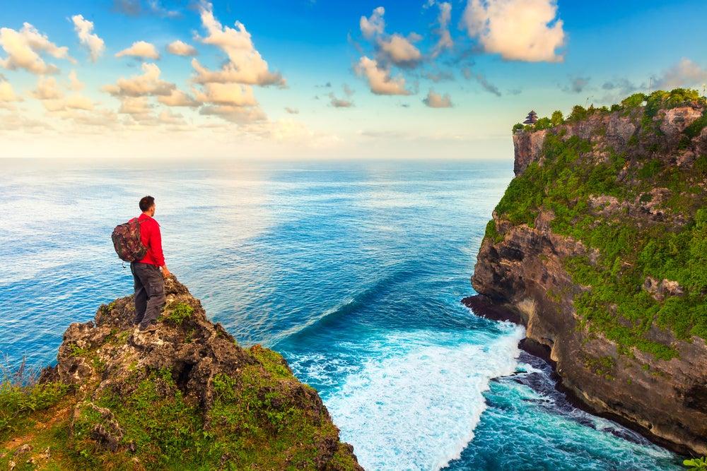 Viajero en Bali