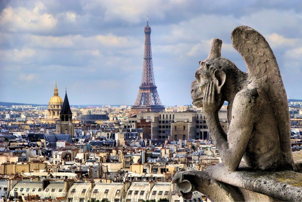 Vista de París desde la catedral de Notre Dame