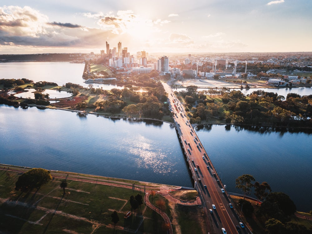 Vista de Perth
