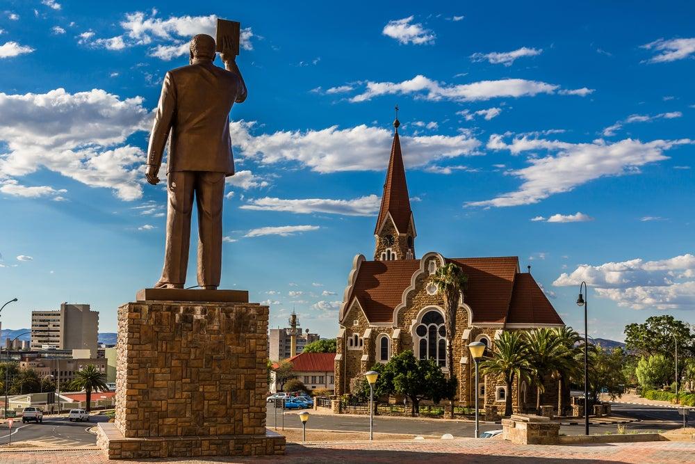 Iglesia luterana en Windhoek
