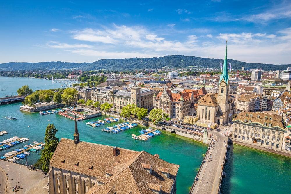 Zúrich, una de las ciudades más caras para vivir