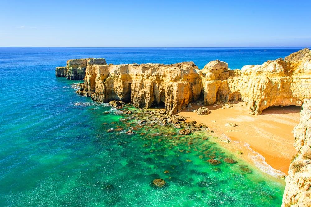 Albufeira en el Algarve
