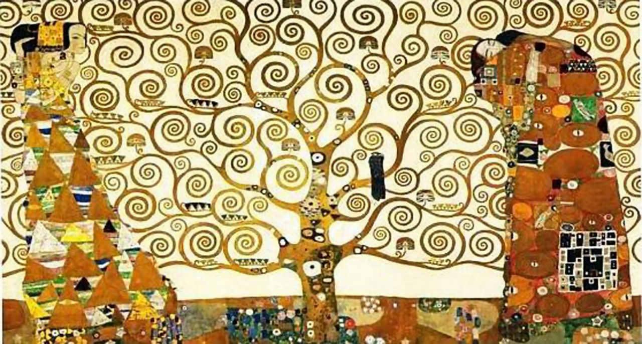 """El árbol de la vida"" de Gustav Klimt"