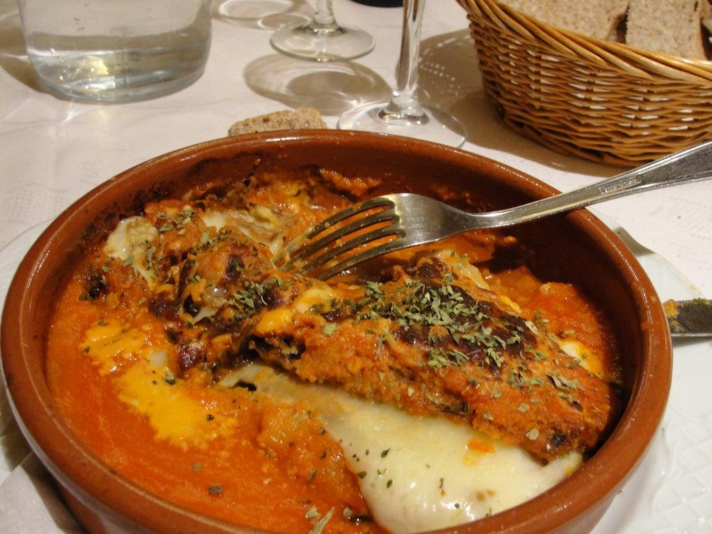 Plato del restaurante Artemisa