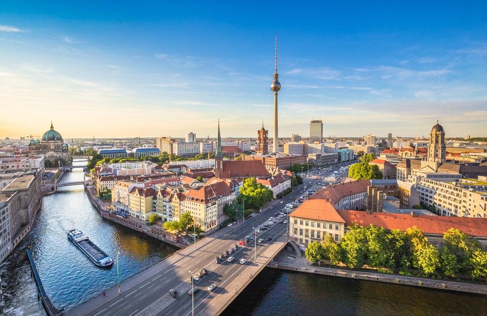 Visitar Berlín, vista de la ciudad