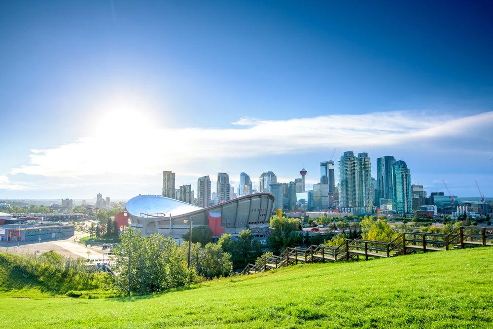 Calgary en Alberta, Canadá