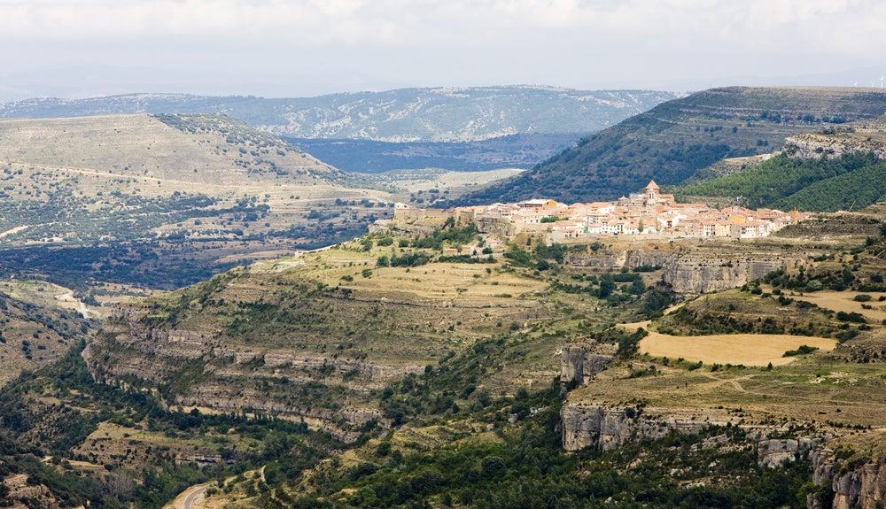 Rutas en caravana: Cantavieja en Teruel