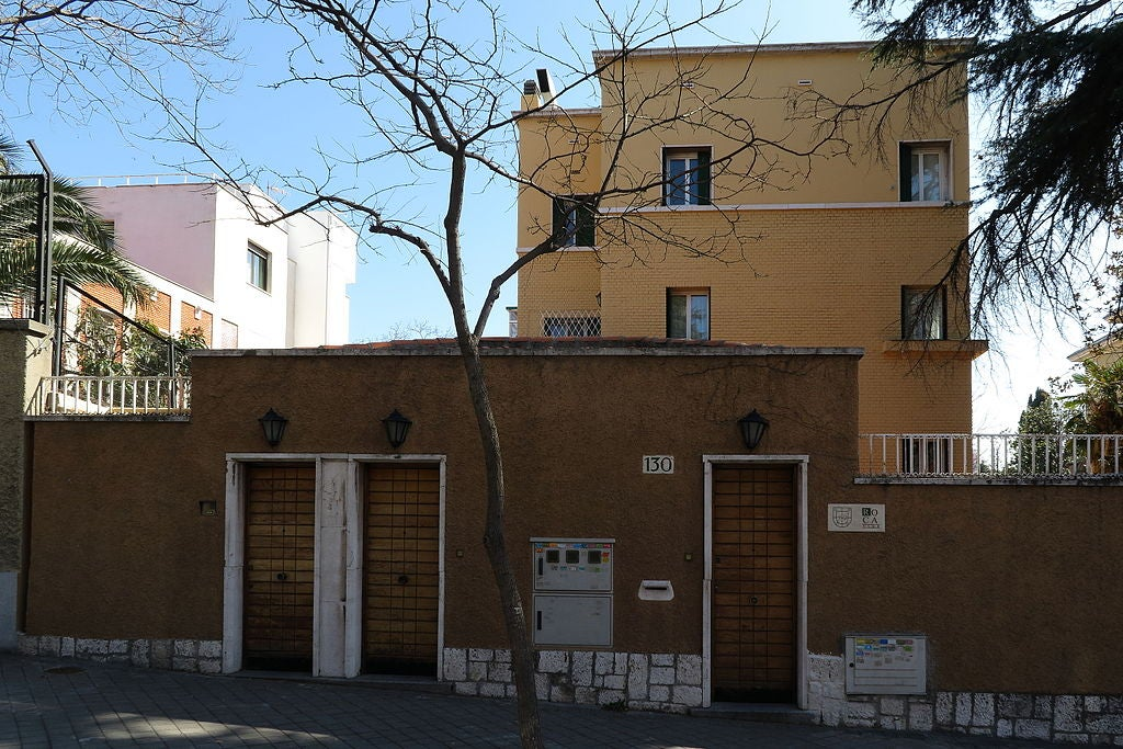 Casa del marqués de Villora en la calle serrano de Madrid
