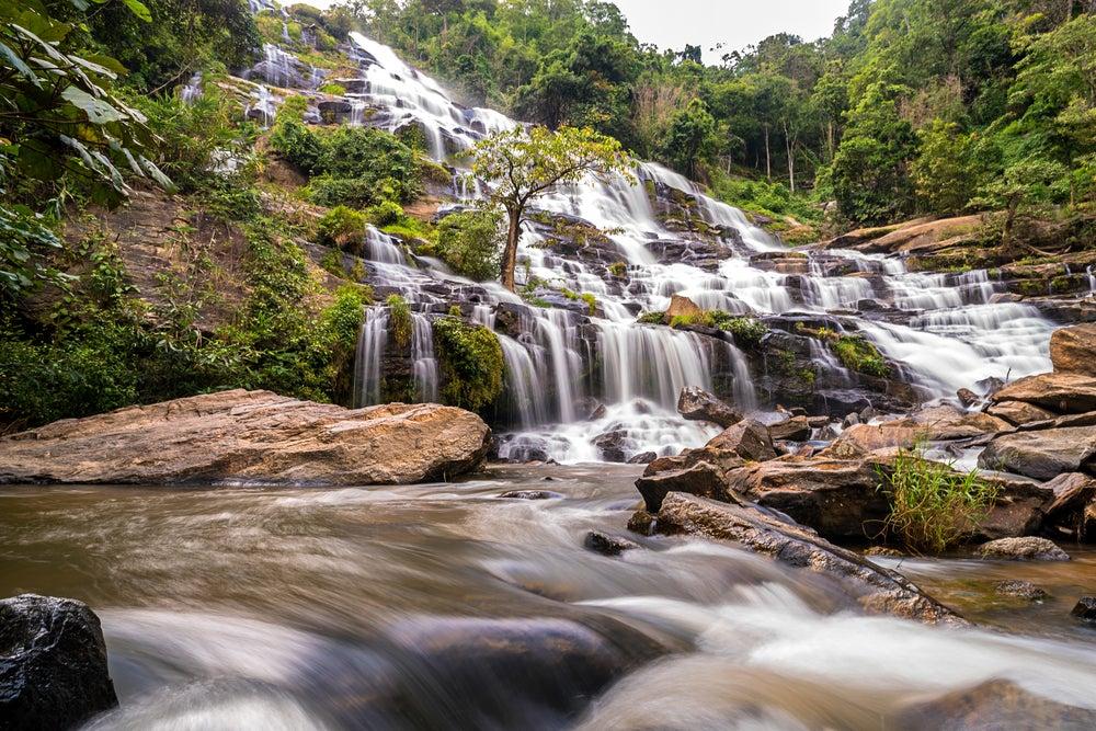 Cascada Mae Ya en Doi Inthanon