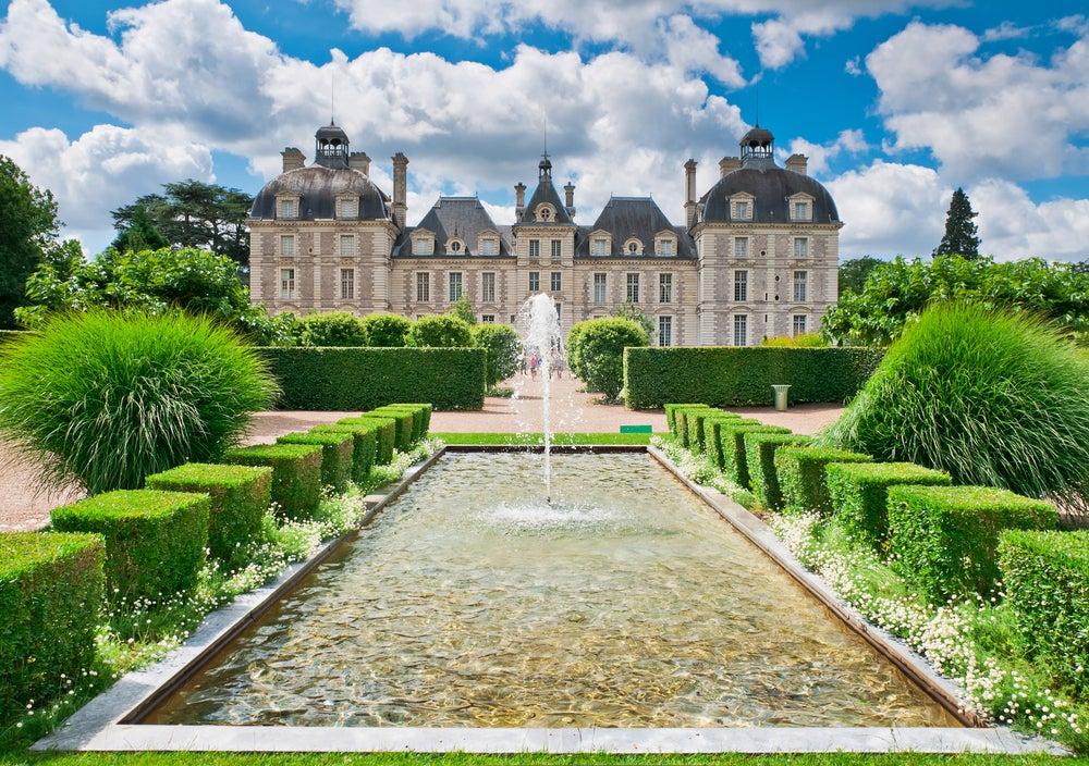 Castillo de Cheverny en el valle del Loira