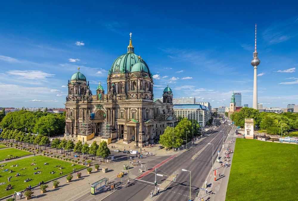 La catedral de Berlín en la Isla de los Museos