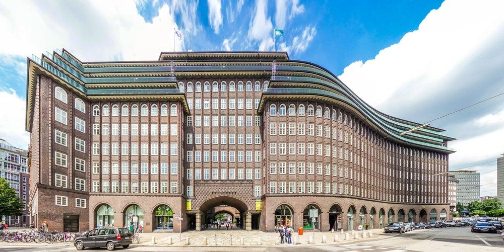 Chilehaus en Hamburgo