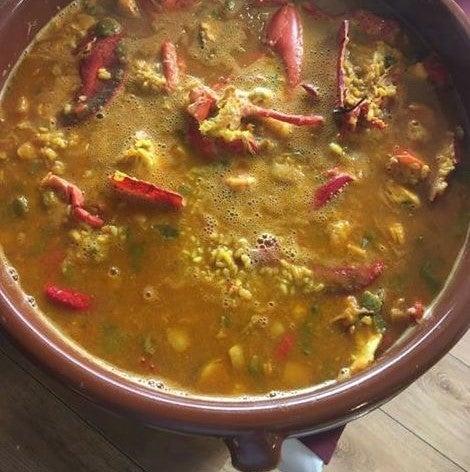 Plato de Comer con Arte, uno de los restaurantes de Sevilla