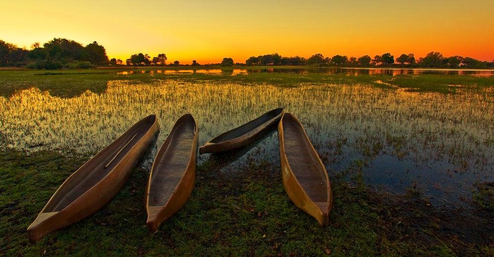 Delta del Okavango en Botsuana