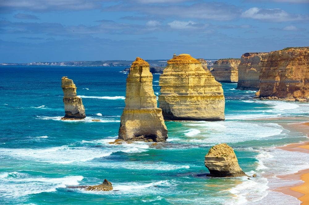 Los Doce Apóstoles, una de las razones para visitar Australia