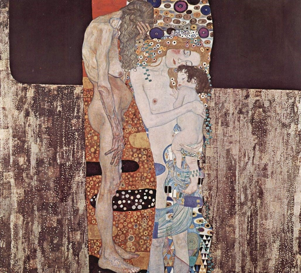 """""""Las tres edades de la mujer"""" de Gustav Klimt"""