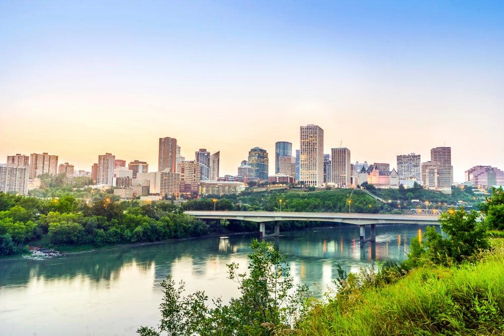 Edmonton en Alberta