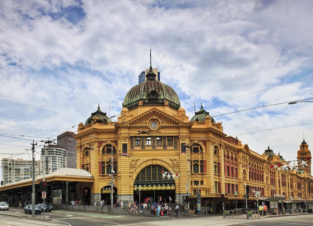 Flinders Station en Melbourne