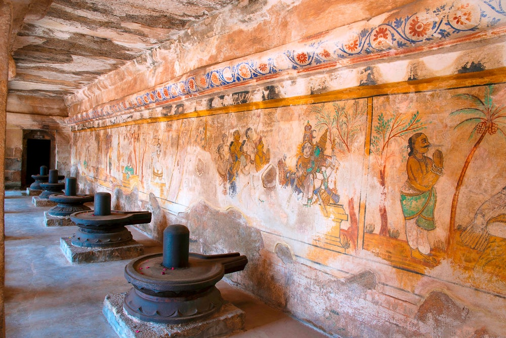Frescos del Templo de Brihadisvara