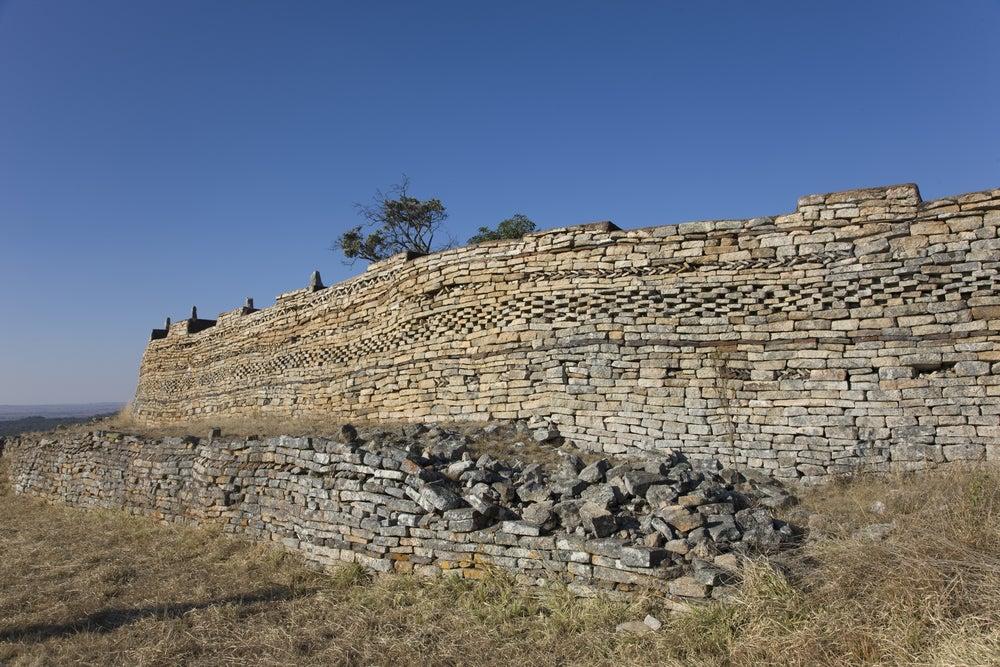 Muros del Gran Zimbabue