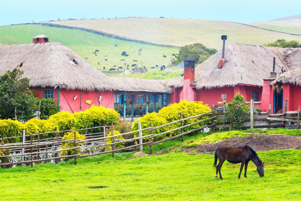 Hacienda típica en El Pedregal