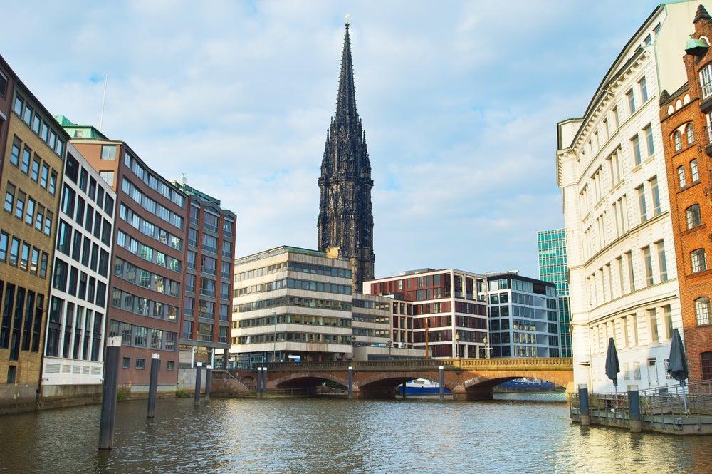 Arquitectura de Hamburgo, iglesia de San Nicolás