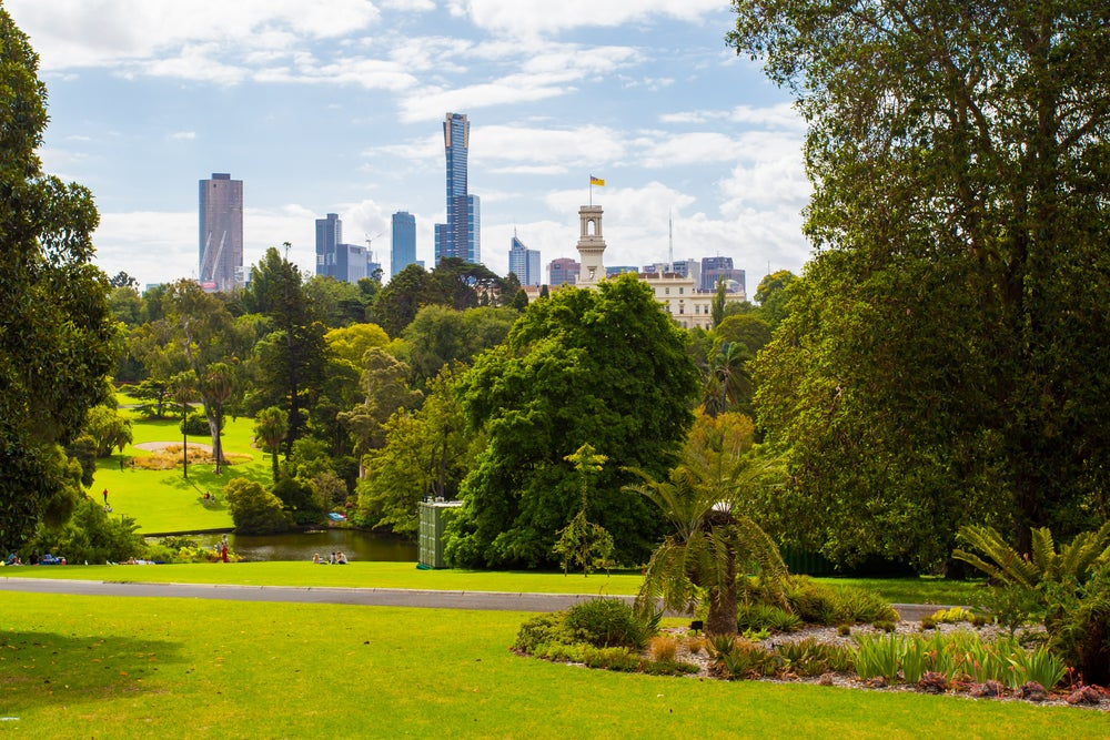 Jardín Botánico de Melbourne