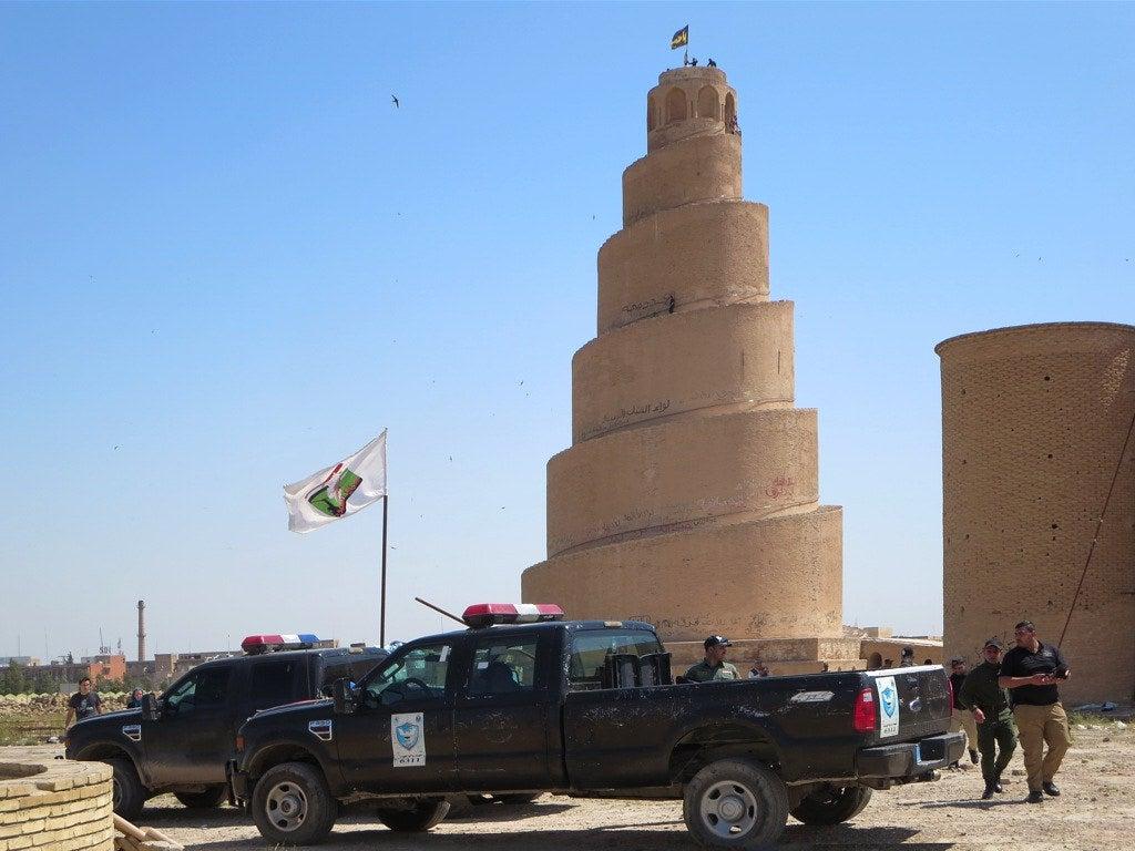 Minarete de la Mezquita de Samarra