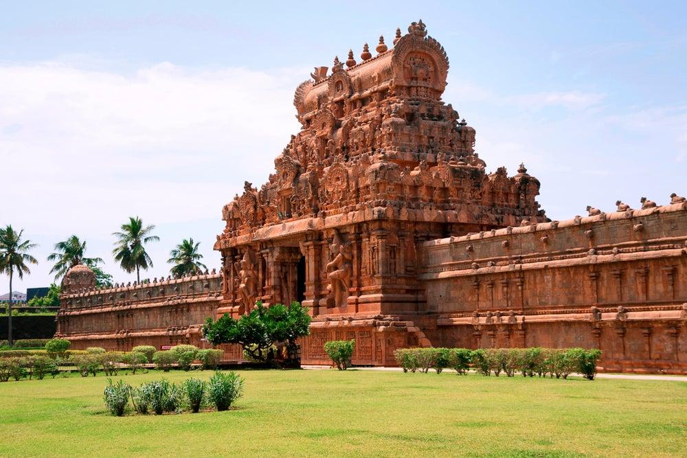 Muralla del templo de Brihadisvara