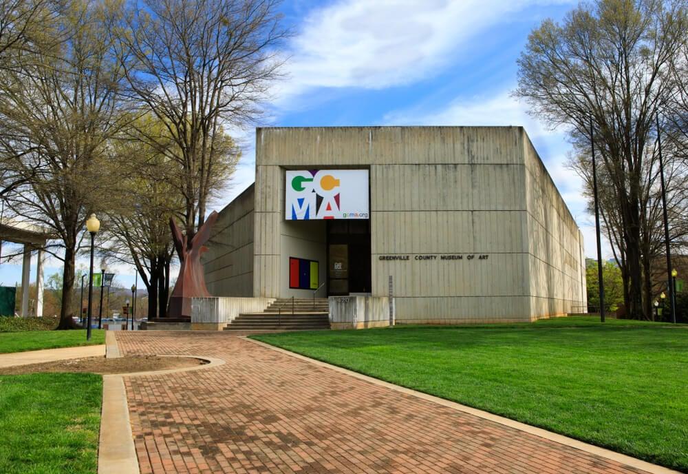 County Museum of Art en Greenville