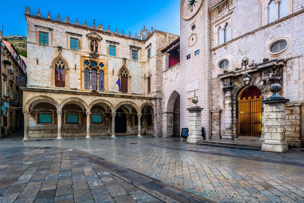 Palacio del Rector en Dubrovnik, Croacia