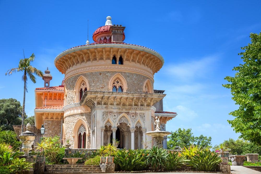 Palacio de Monserrate en el Parque Natural de Sintra