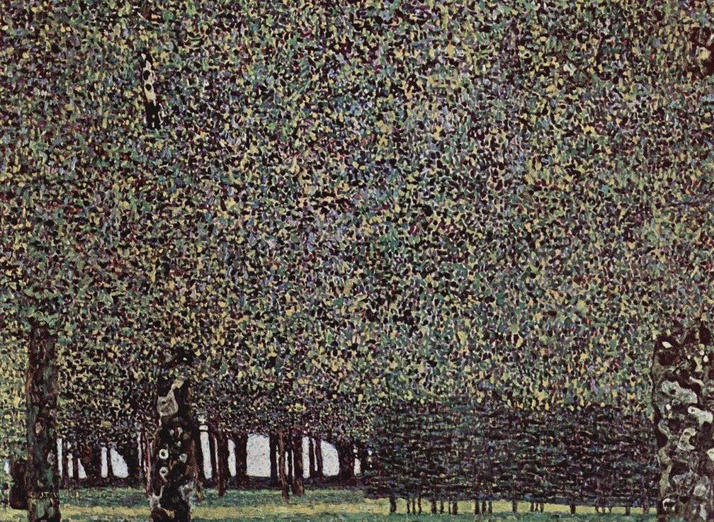"""""""El parque"""" de Gustav Klimt"""