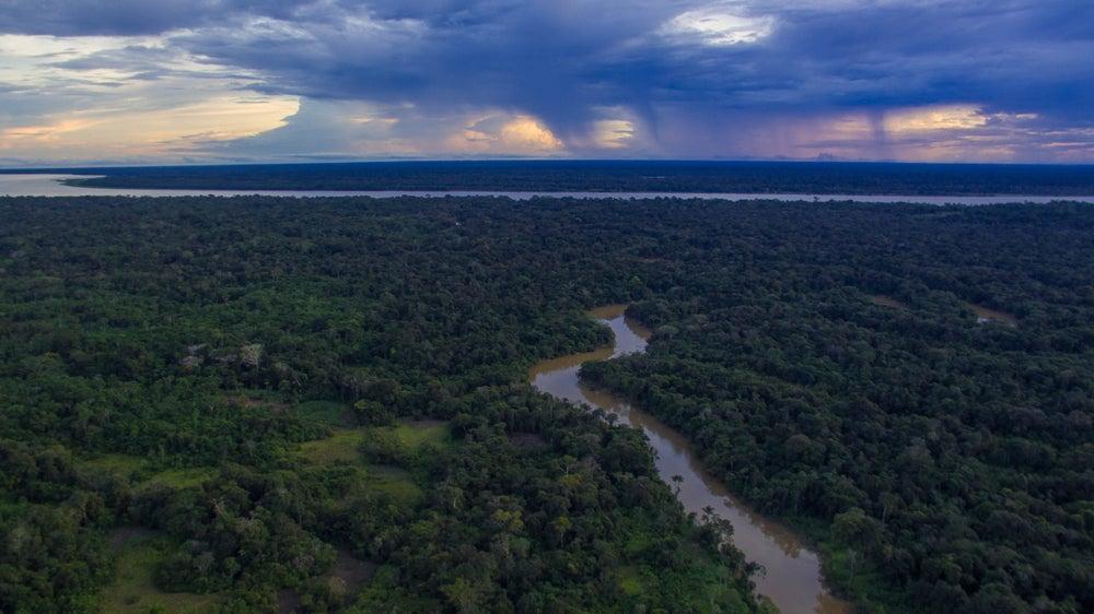 El Parque Nacional Natural Amacayacu en Colombia