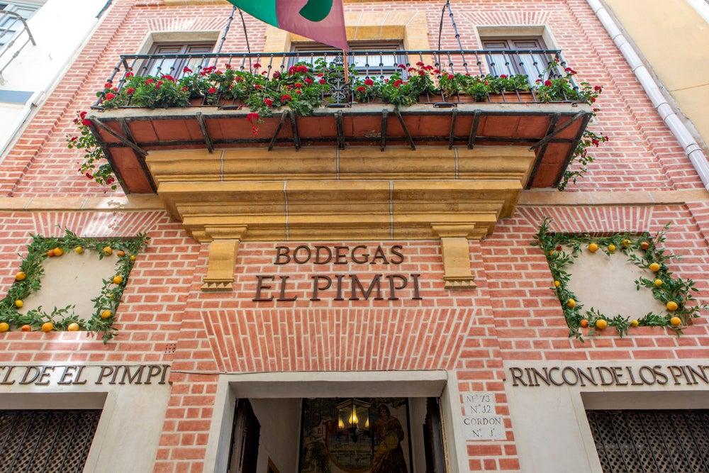 Bodega El Pimpi en Málaga