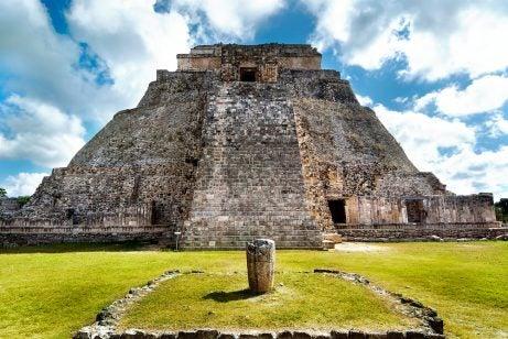 Pirámide de Adivino en Uxmal