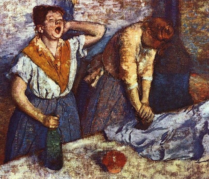 Las planchadoras de Edgar Dega