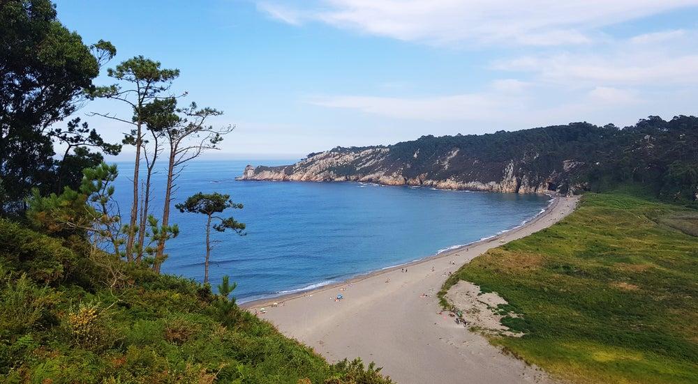 Playa Barayo en Asturias