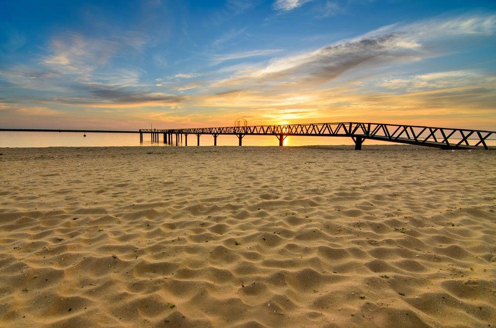Playa de Mazagón en Huelva
