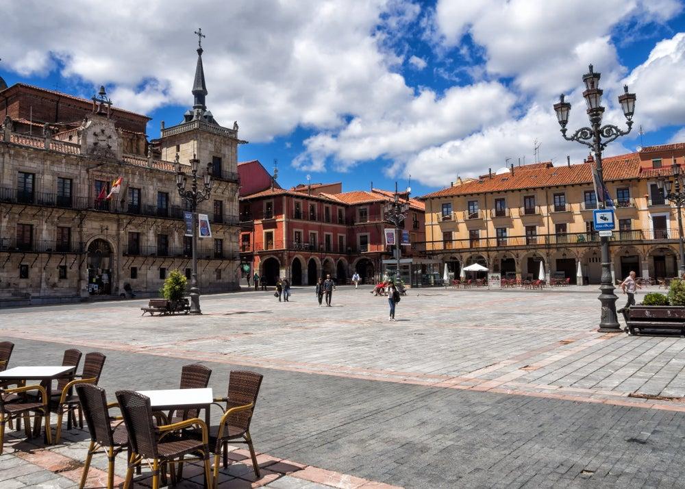 Plaza MAyor, para ir de tapas en León