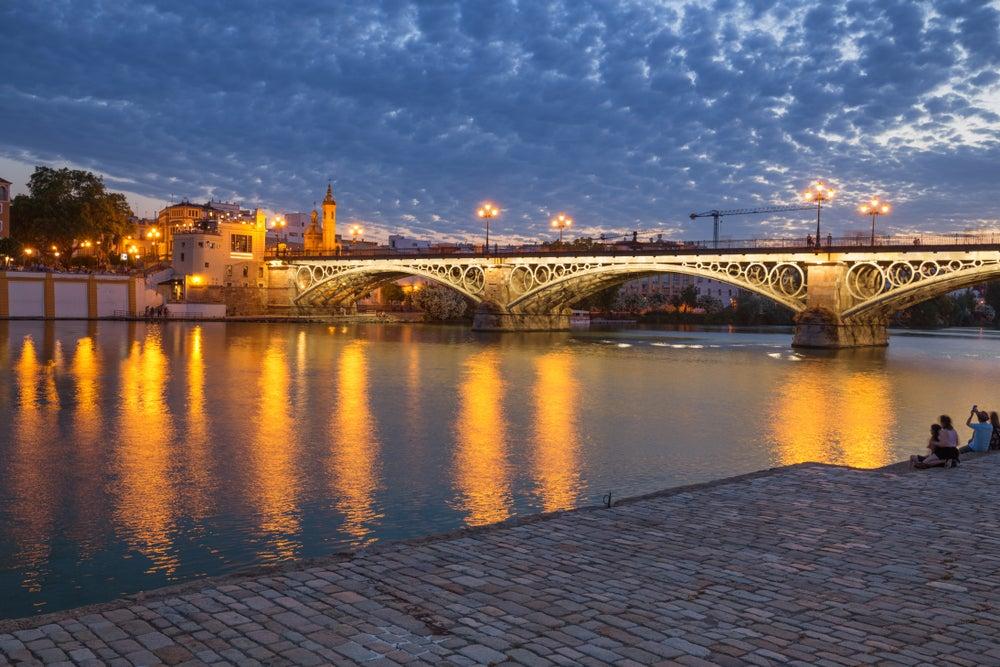 Puente de Triana de Sevilla