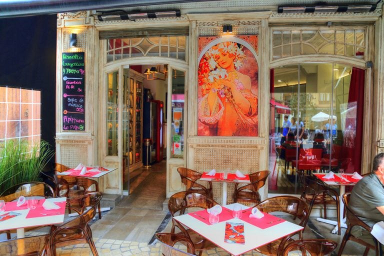 Los lugares más vintage para comer en Málaga