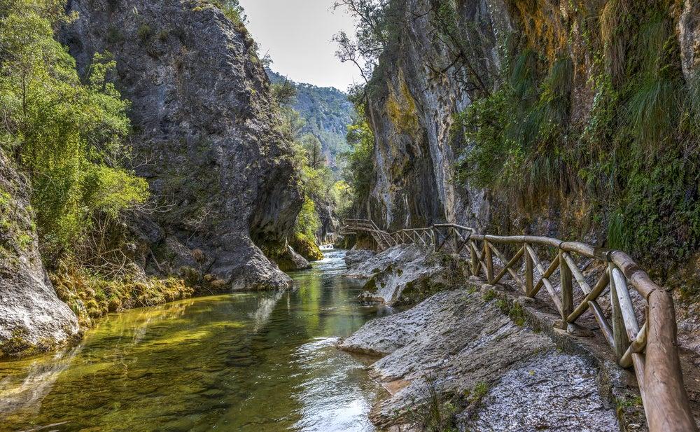 Río Borosa en el Parque Natural de la Sierra de Cazorla