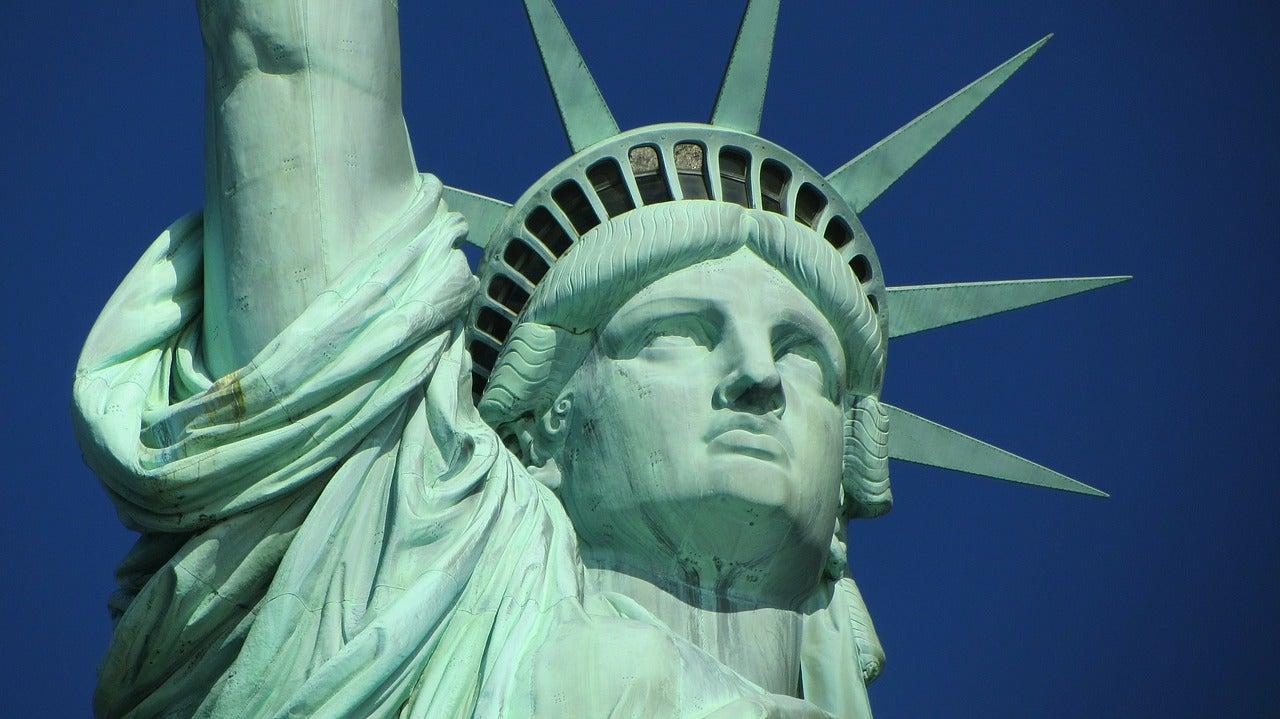 Rostro de la Estatua de la Libertad