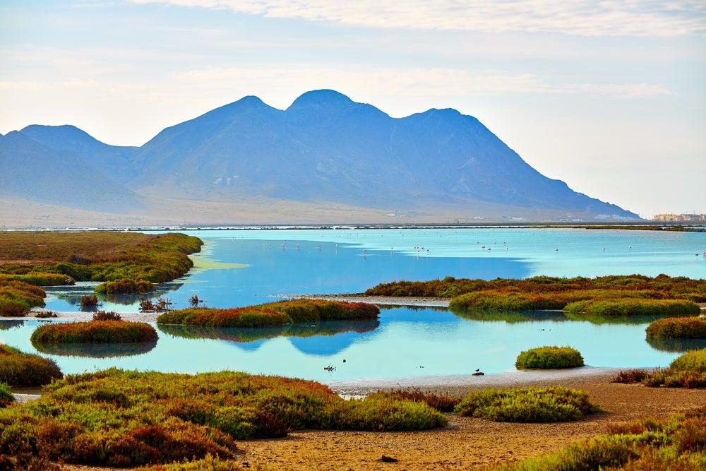 Salinas en el Parque Natural de Cabo de Gata-Níjar