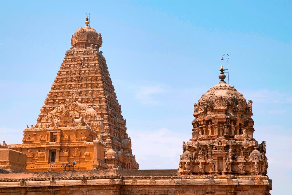 Torre Vimana en el templo de Brihadisvara