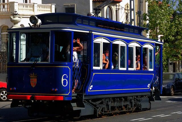 Tranvía Azul, un transporte en Barcelona