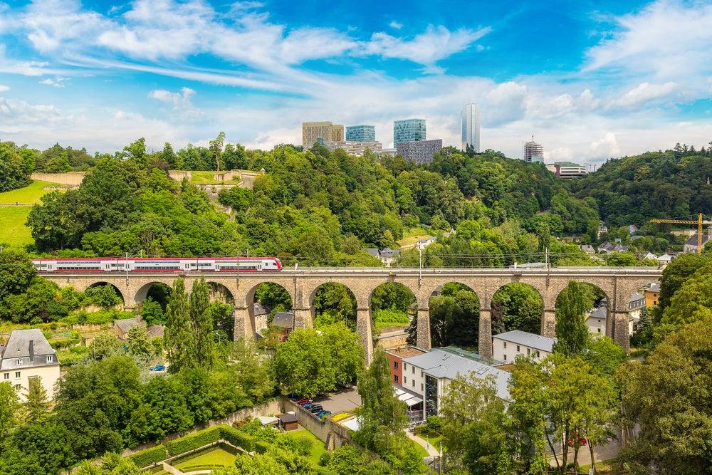 Tren en Luxemburgo